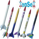 Bausatz Raketenset TenSet mit 10 Raketen (ohne Motoren)