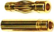 4,0mm² Steckerpaar 27,5mm 36A Dauerbel. 71241