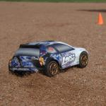 4WD Rally Car-Intl: Blau gesprenkelt 1/24 LOSB0241IT3