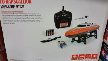 Carson 500108022 RC Boot DMAX Rapscallion 100% RTR 2.4GHz