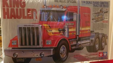 Tamiya 300056308 1:14 RC Truck King Hauler Metallic Special Chrom Sonderangebot