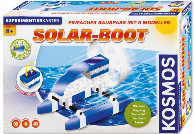 KOSMOS Experimentierkasten Solar-Boot 37010117 Sonderangebot