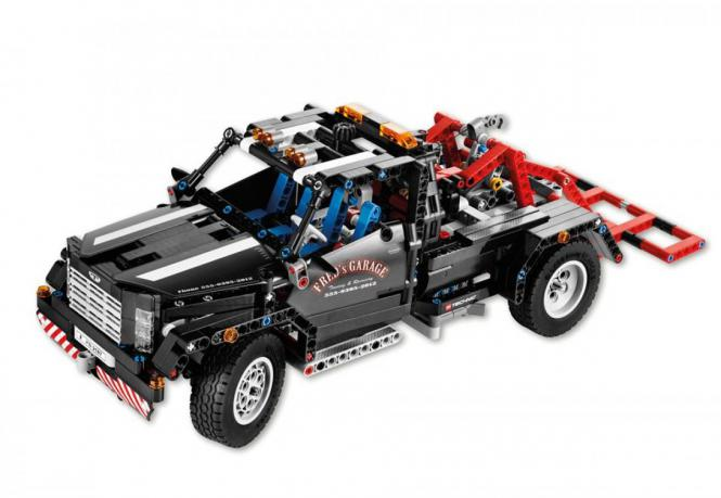 lego technic pickup abschleppwagen 38010004 modellbau. Black Bedroom Furniture Sets. Home Design Ideas
