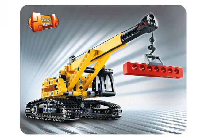 lego technic raupenkran 9391 38010001 modellbau. Black Bedroom Furniture Sets. Home Design Ideas