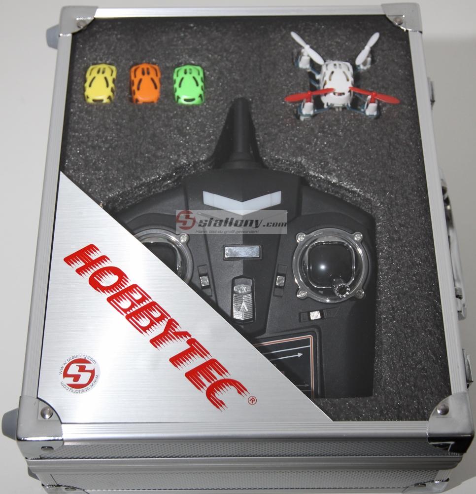 quadrocopter micro mit koffer 2 4 ghz 100 rtr 310 12352 modellbau remscheid carrera rc. Black Bedroom Furniture Sets. Home Design Ideas