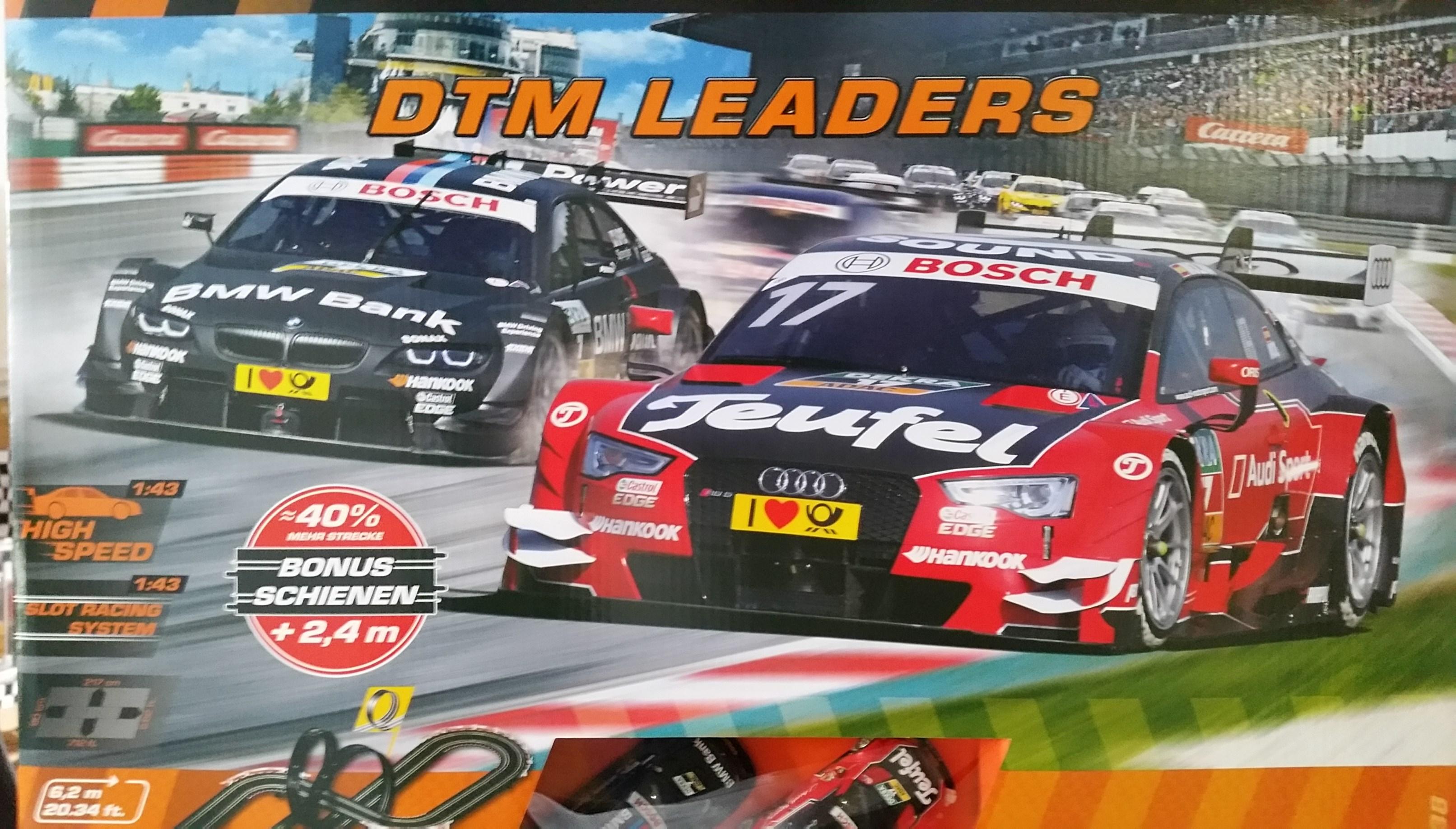 Carrera 62438 Go!!! DTM Leaders Startset (mit ca. 40% extra Schienen ...