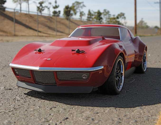 vaterra custom corvette 1969 v100 s 1 10 rtr vtr03022i. Black Bedroom Furniture Sets. Home Design Ideas