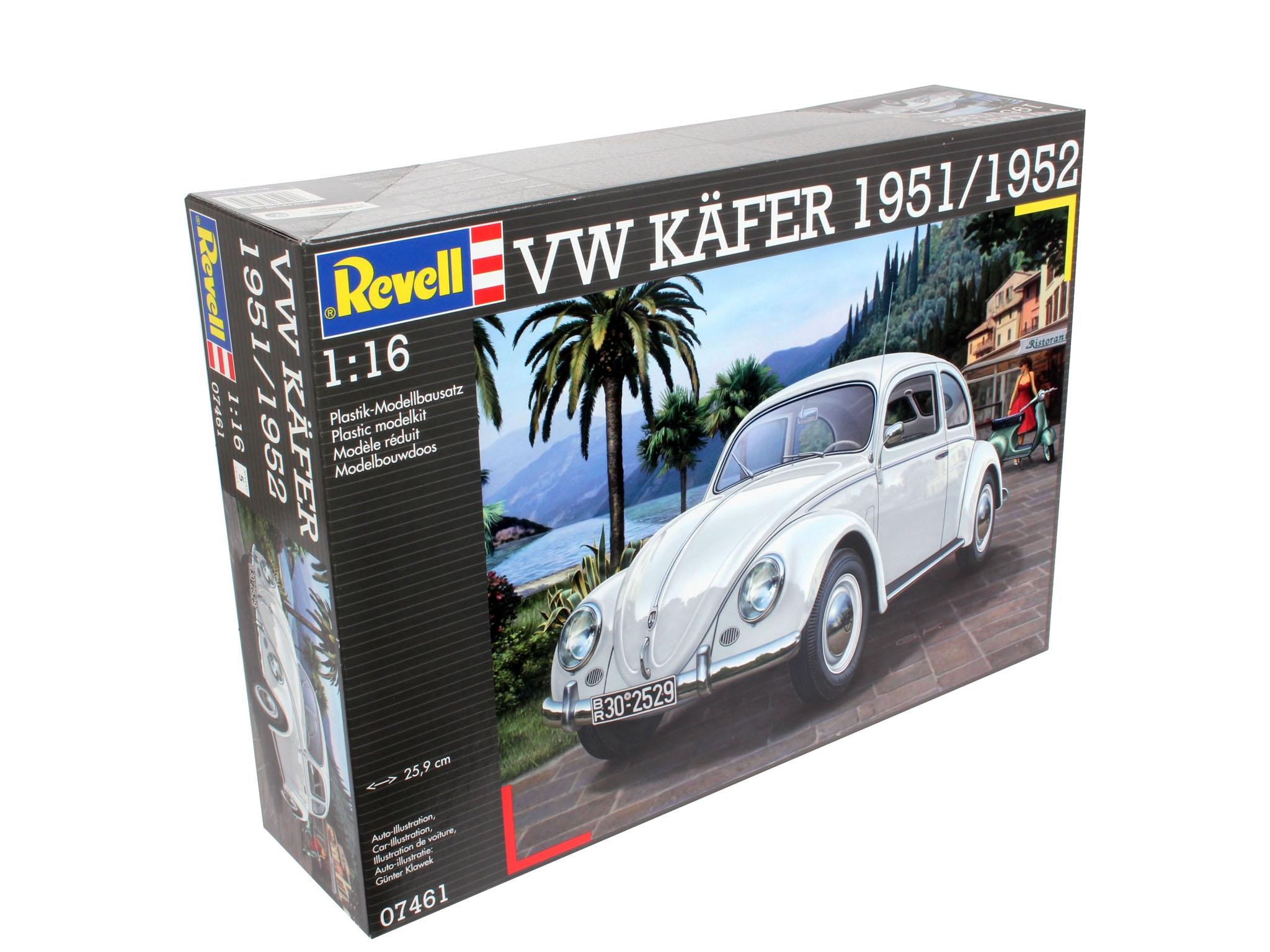 revell 07461 vw k fer 1951 52 modellbau remscheid carrera rc spielwaren spielzeug roboter. Black Bedroom Furniture Sets. Home Design Ideas