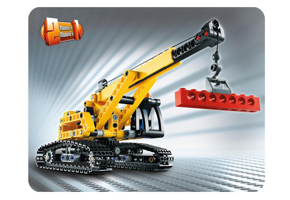 lego technic raupenkran 9391 38010001 modellbau remscheid carrera rc spielwaren spielzeug. Black Bedroom Furniture Sets. Home Design Ideas
