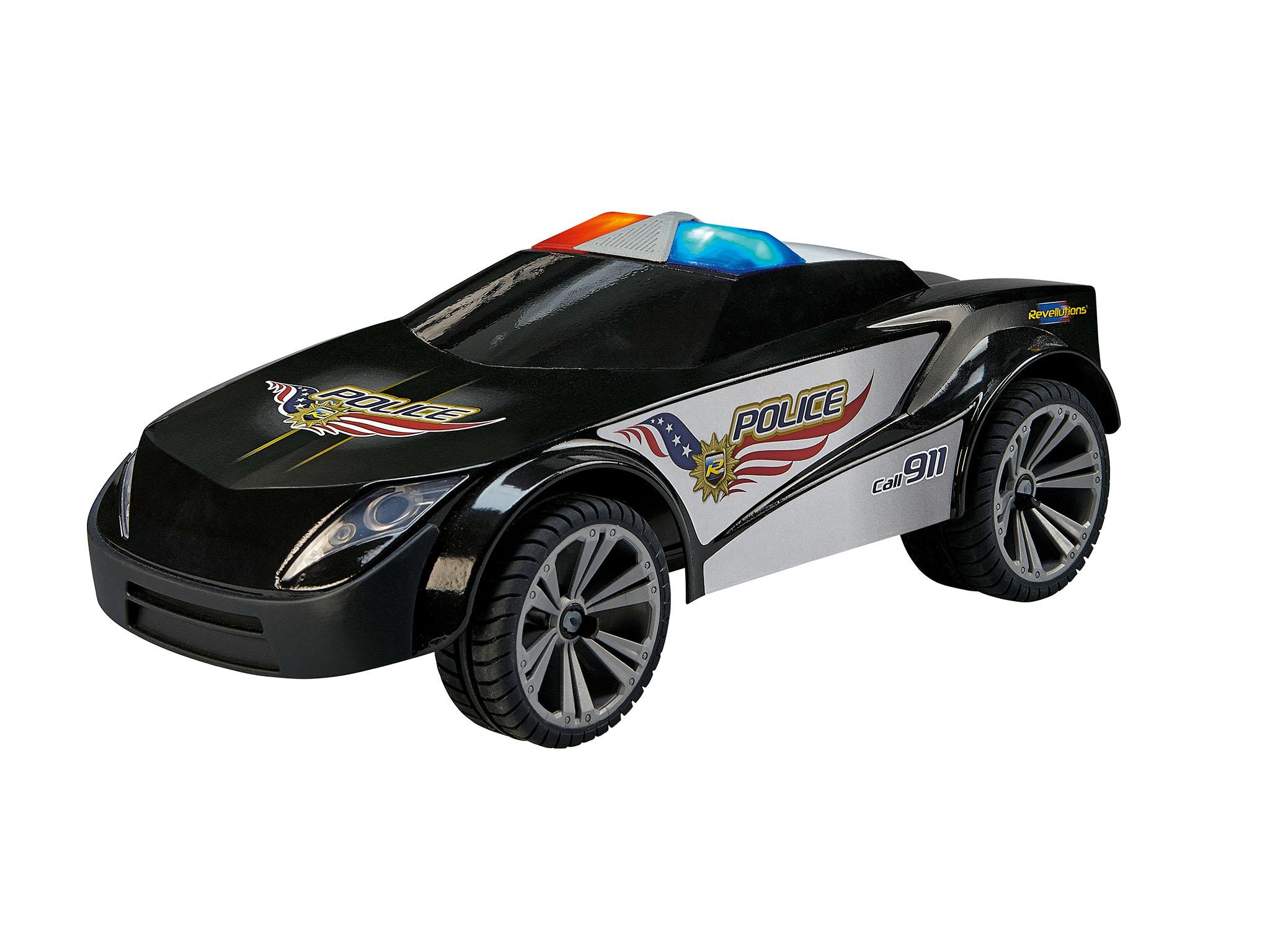 revell 24572 police car 1 18 sonderangebot modellbau. Black Bedroom Furniture Sets. Home Design Ideas